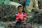 child in Guiyu