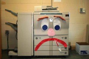 sick copier